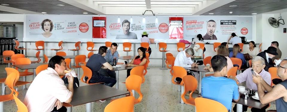 Publicidad Aeropuerto de Bucaramanga Palonegro